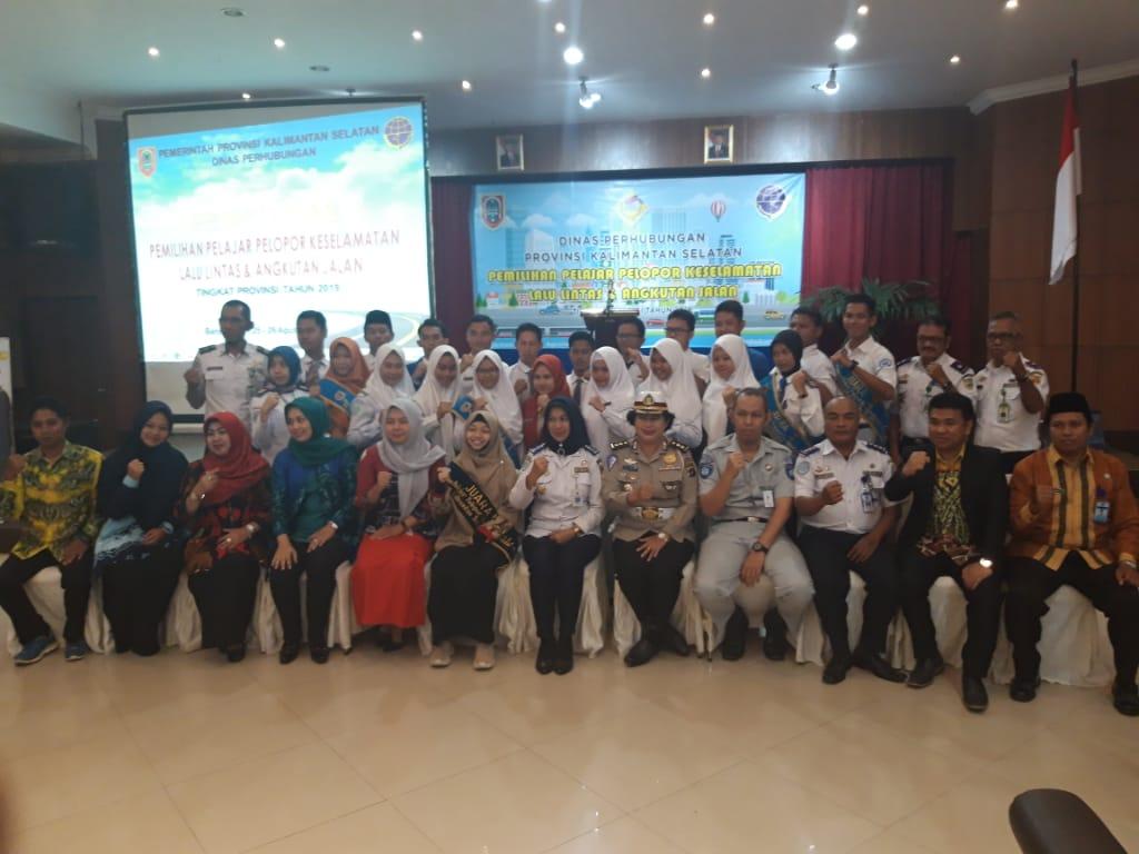 Dishub Bangga ; Perwakilan Pelajar Pelopor Lalu Lintas Banjarbaru Lolos ke Tingkat Nasional