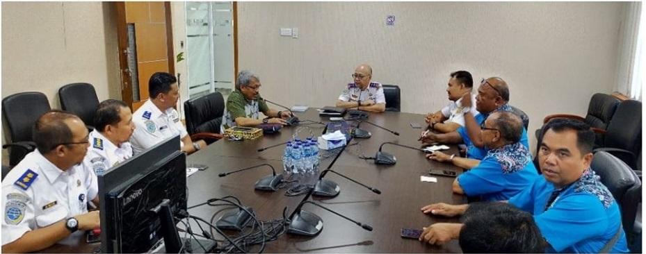 Sharing Session dengan Kepala Badan Pengelola Transportasi jabodetabek, Bapak Bambang Prihartono dan jajaran.