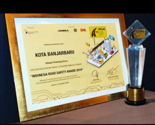 Banjarbaru raih penghargaan IRSA 2019