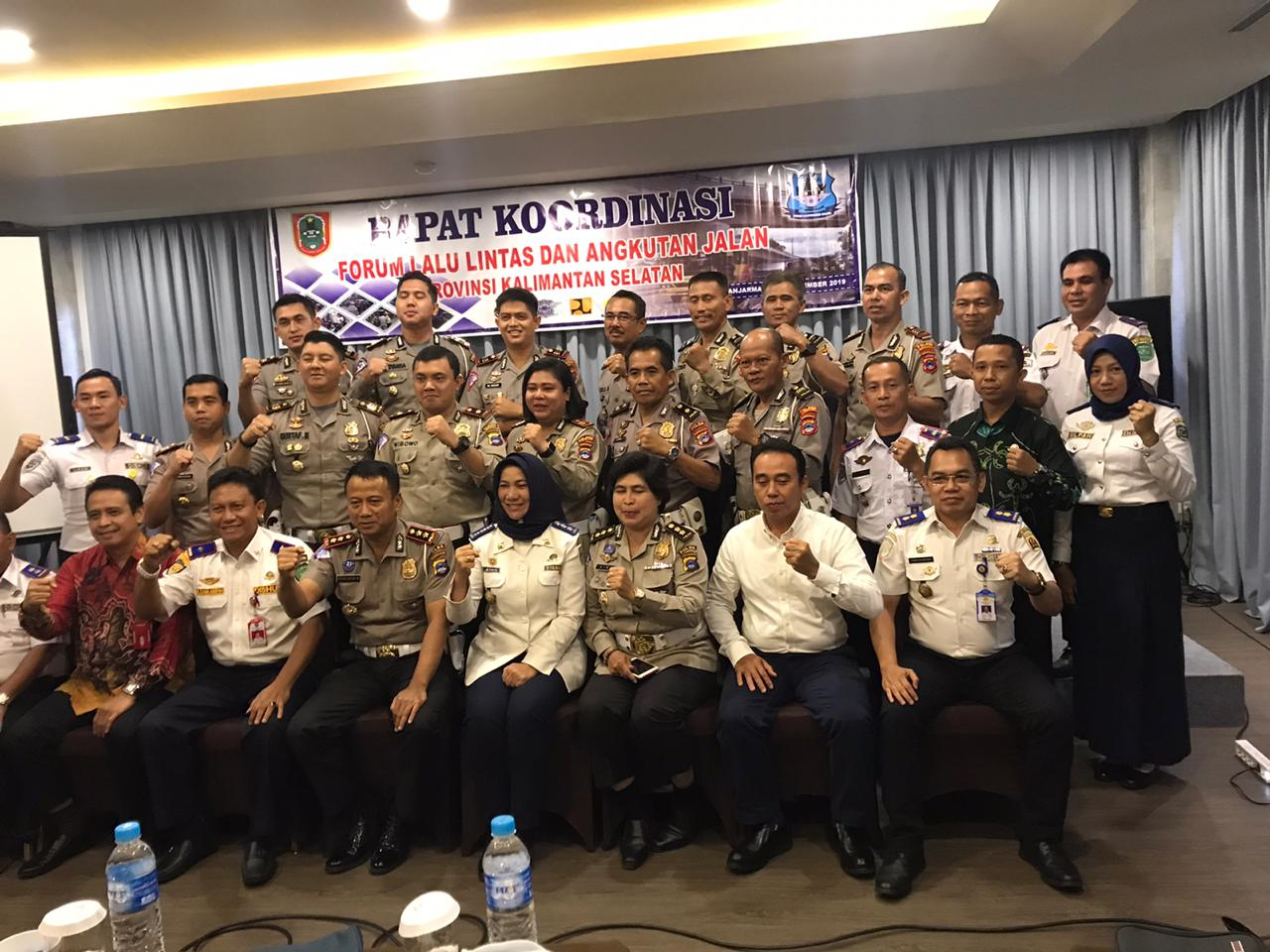 Rapat Koordinasi Forum Lalu Lintas dan Angkutan Jalan Provinsi Kalimantan Selatan