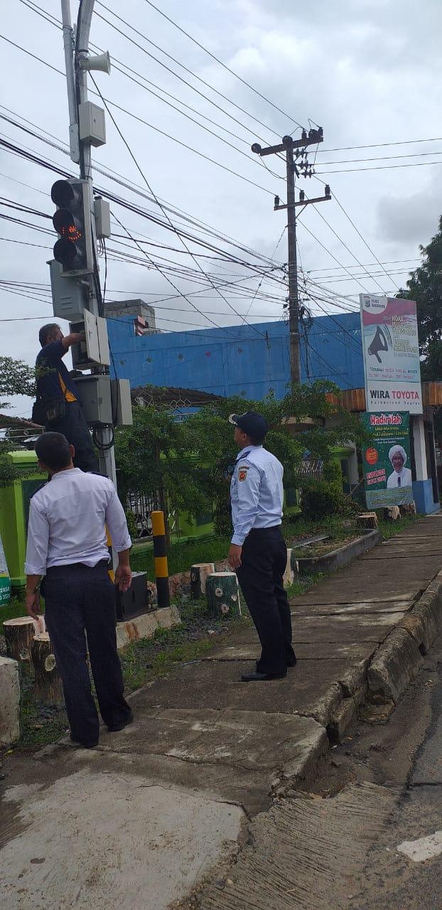 Traffic Light Tidak Berfungsi, Dishub Banjarbaru Segera Mengganti